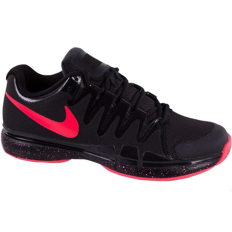 nike zoom vapor 9 5 tour s tennis shoe black punch