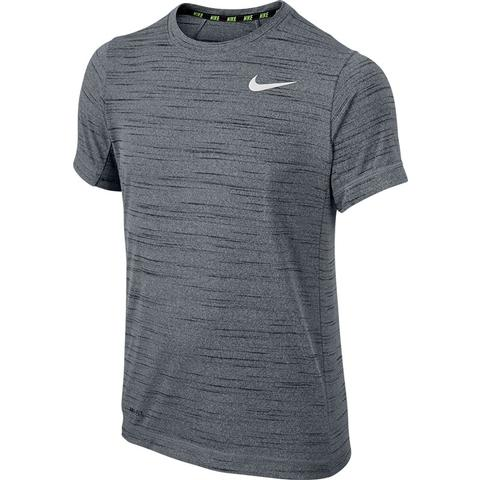 Nike Dri- Fit Touch Short- Sleeve Boy's Top