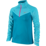 Nike Element Half-Zip Long-Sleeve Girl`s Top