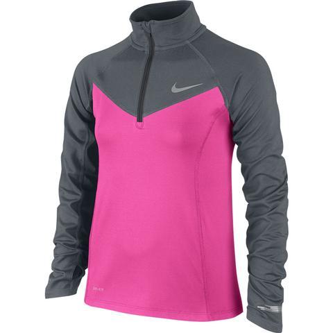 Nike Element Half- Zip Girl's Top