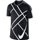 Nike Team Court Graphic Men`s Tennis Crew
