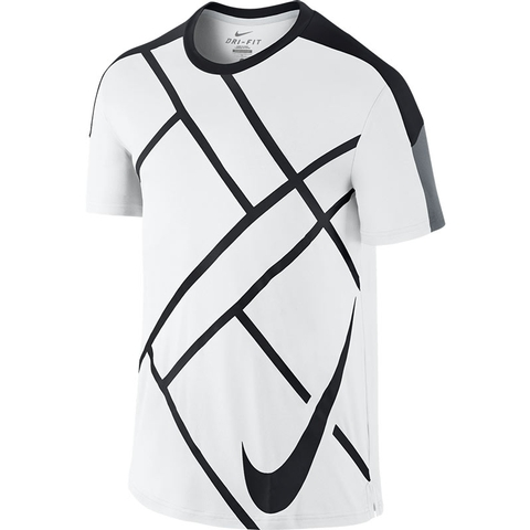 Nike Team Court Graphic Men's Tennis Crew