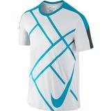 Nike Team Court Graphic Men`s Tennis Crew