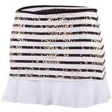 Doue Black Stripes Women`s Skort