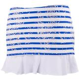 Doue Blue Stripes Women`s Skort