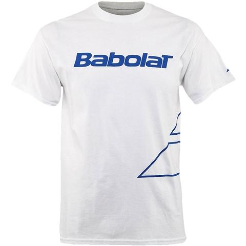 Babolat Logo Outline Ss Men's T- Shirt