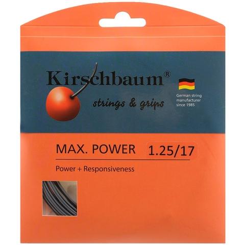 Kirschbaum Max Power 1.25 Tennis String Set