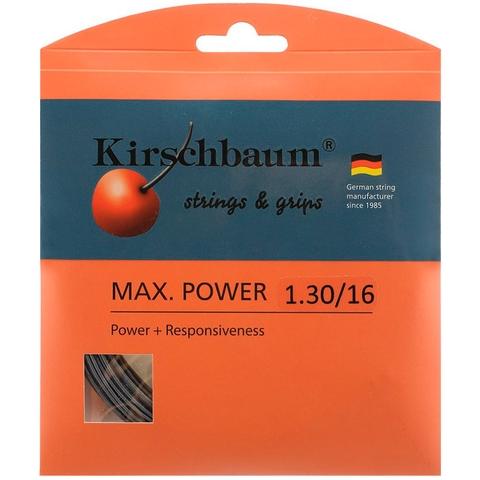 Kirschbaum Max Power 1.30 Tennis String Set