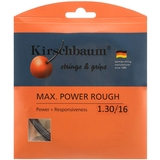 Kirschbaum Max Power Rough 1.30 Tennis String Set - Grey