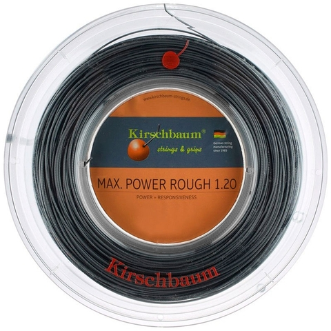 Kirschbaum Max Power Rough 1.25 Tennis String Reel