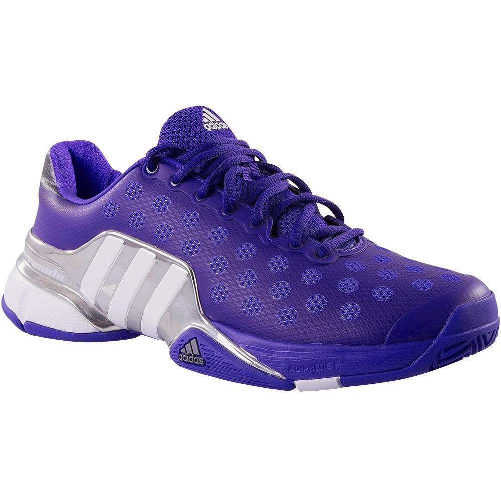 Adidas Barricade 2015 Men S Tennis Shoe Purple Silver