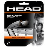 Head Gravity Hybrid Tennis String Set - White/Silver