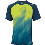 Wilson Spring Smoke Print V- Neck Men's Tennis Shirt