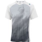 Wilson Spring Smoke Print V- Neck Men's Tennis Shirt