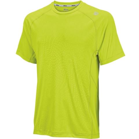 Wilson Spring Embossed Crewneck Men's Tennis Shirt
