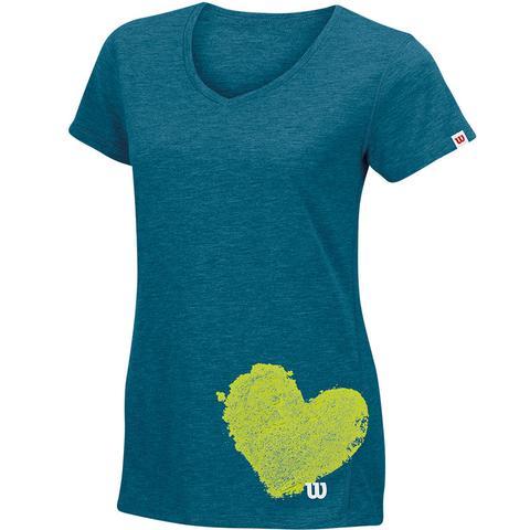 Wilson Sum.Heart Tech Women's Tennis Tee