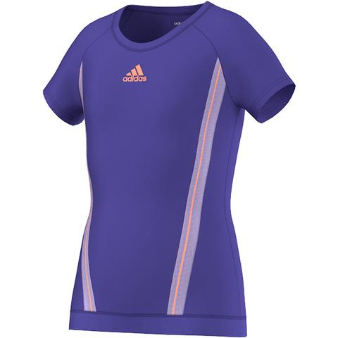 Adidas Adizero Girl's Tennis Tee