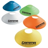 Gamma Tennis Disc Cones 7.5 Soft 5/Pack Assorted