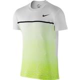 Nike Challenger Printed Men`s Tennis Crew