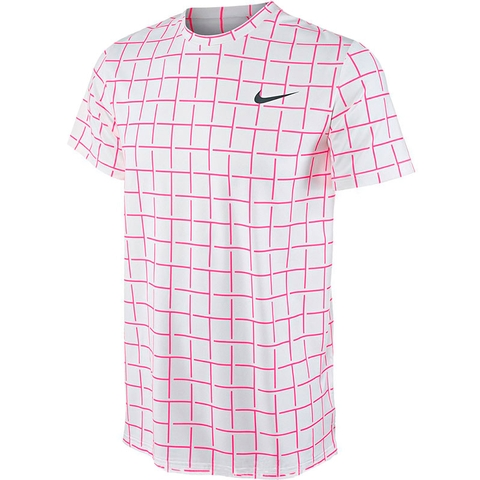 Nike Sphere Stripe Men's Tennis Crew