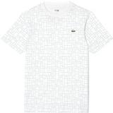 Lacoste Geometric Printed  Men`s Tennis Shirt