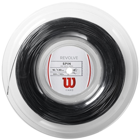 Wilson Revolve 16 Tennis String Reel - Black