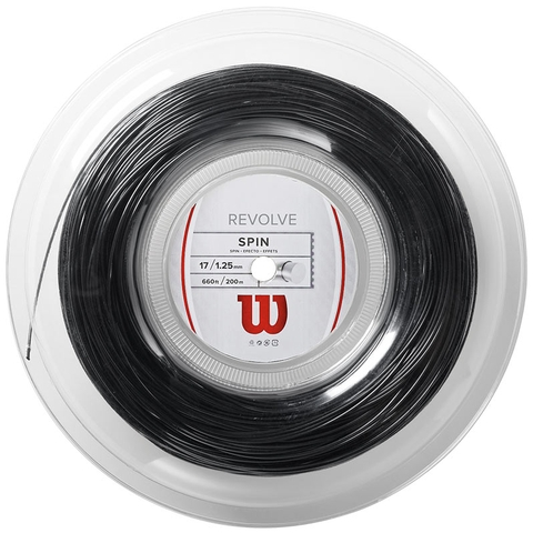 Wilson Revolve 17 Tennis String Reel - Black