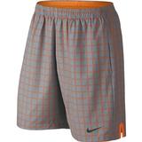 Nike Court Plaid 9` Men`s Tennis Short