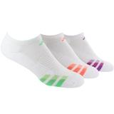 Adidas Variegated 3-Pack No Show Women`s Tennis Socks