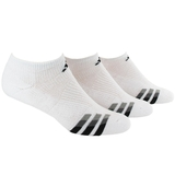 Adidas Cushioned 3-Pack No Show Men`s Tennis Socks