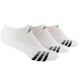 Adidas Cushioned 3-Pack No Show Men`s Tennis Socks
