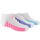 Adidas 3 Pack No Show Girl's Tennis Socks