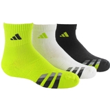 Adidas Cushion 3-Pack Quater Junior`s Tennis Socks