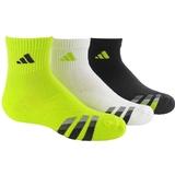 Adidas Cushion 3-Pack Quater Junior`s Tennis Socks