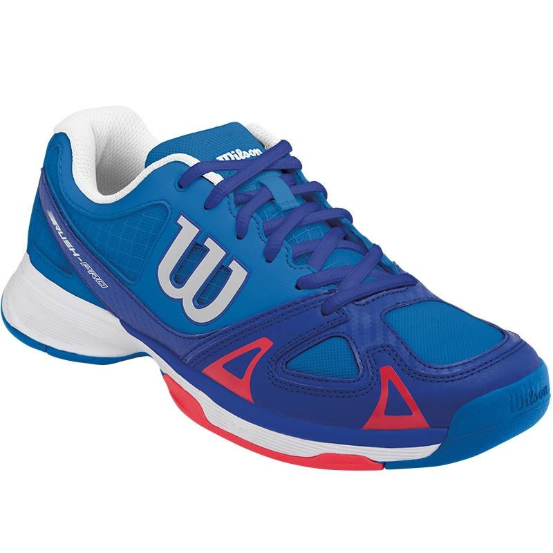 wilson junior tennis shoe blue