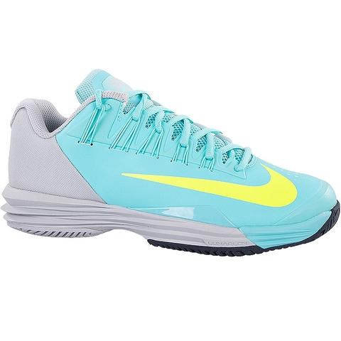 Nike Lunar Ballistec   Aqua Grey Volt Women S Shoe