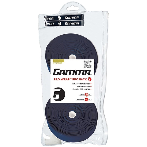 Gamma Pro Wrap 30 Pack Tennis Overgrip