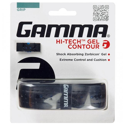 Gamma Hi- Tech Gel Contour Tennis Replacement Grip