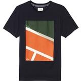 Lacoste Jersey Geometric Print Men's T-Shirt