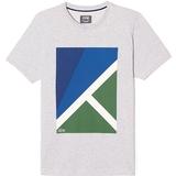 Lacoste Jersey Geometric Print Men`s T-Shirt