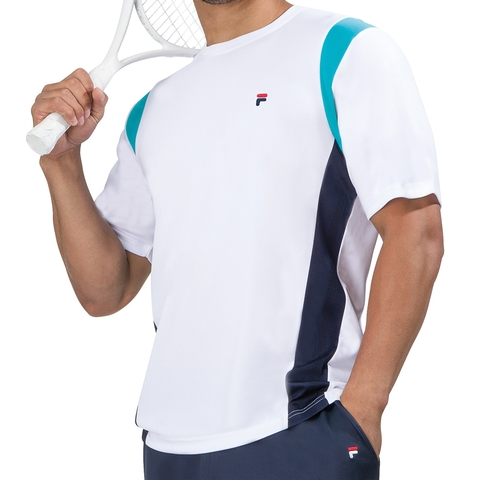 Fila Heritage Short Sleeve Men's Tennis Crew