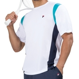Fila Heritage Short Sleeve Men`s Tennis Crew