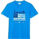 Lacoste Flag Graphic Men`s Tennis Tee