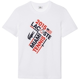 Lacoste Miami Open Men`s Tennis Tee