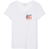 Lacoste Flag Graphic Women`s Tennis Tee