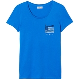 Lacoste Flag Graphic Women`s Tennis Tee