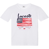 Lacoste Flag Graphict Boy`s Tee
