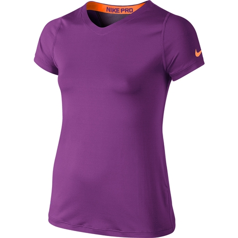 Nike Pro S/S Girl's Top