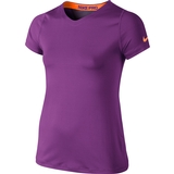 Nike Pro S/S Girl`s Top