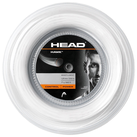 Head Hawk 17 Tennis String Reel - White